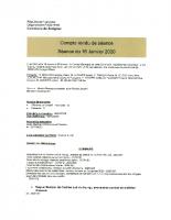 CR conseil M du 16 01 2020