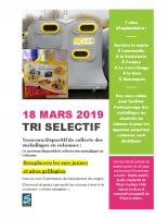 TRI SELECTIF Mars 2019